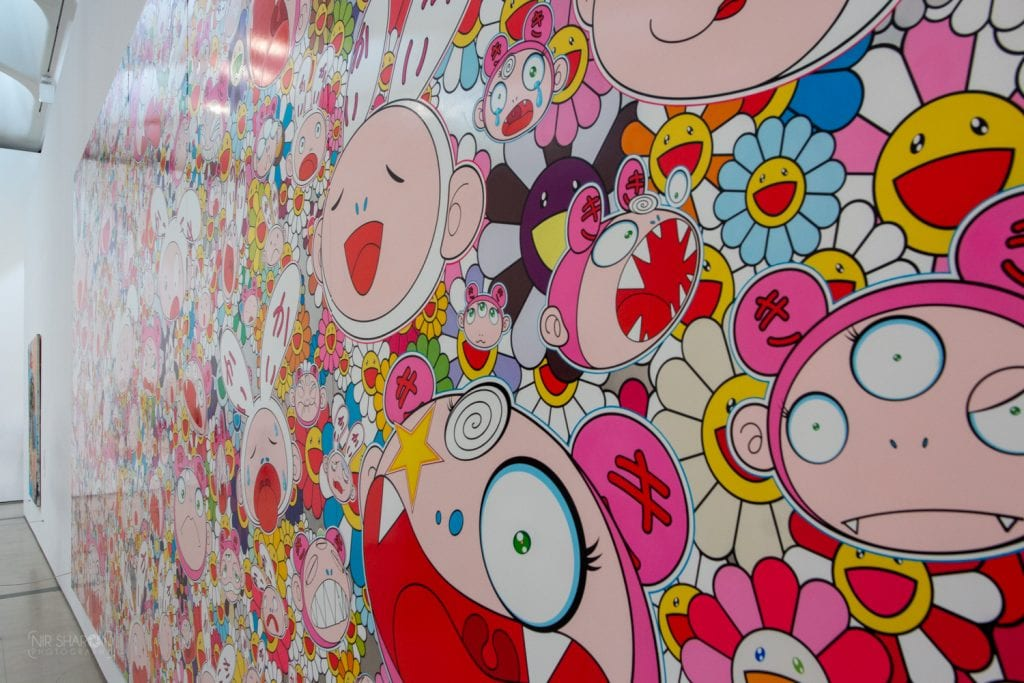 Takashi Murakami, 2009, Hustle'n'Punch By Kaikai And Kiki צילום: ניר שרון